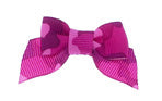 Dog Hair Bow-Pink Camouflage Bow with Tails - A Pet's World