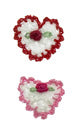 Dog Hair Accessories-Crochet Hearts with Elastics - A Pet's World