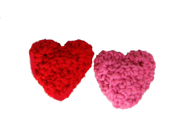 Dog Toys-Crochet Heart Toys with Squeakers - A Pet's World