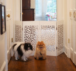 Load image into Gallery viewer, Decorative Free Standing Pet Gates - A Pet's World