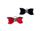 Load image into Gallery viewer, Dog Hair Bows - Felt Bow Ties with Elastics - A Pet's World