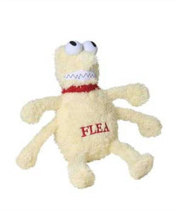 Dog Toys - Flea and Tick Plush Toys with Squeakers - A Pet's World