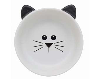 Kitty Face Cat Dish - A Pet's World