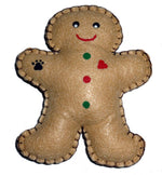 Load image into Gallery viewer, Dog Toy-Gingerbread Man with Squeaker - A Pet's World