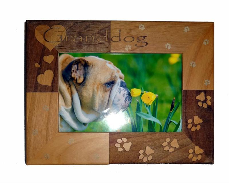 Granddog Personalized Pet Frame - A Pet's World