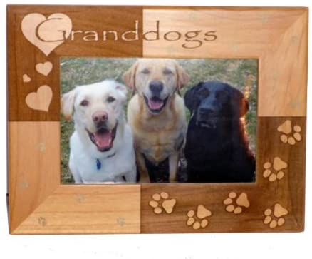 Granddogs Personalized Pet Frame - A Pet's World