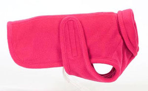 Dog Coat-  Warm Double Ply Fleece - A Pet's World