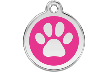 Enamel Dog ID Tags - A Pet's World