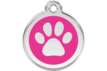 Load image into Gallery viewer, Enamel Dog ID Tags - A Pet's World