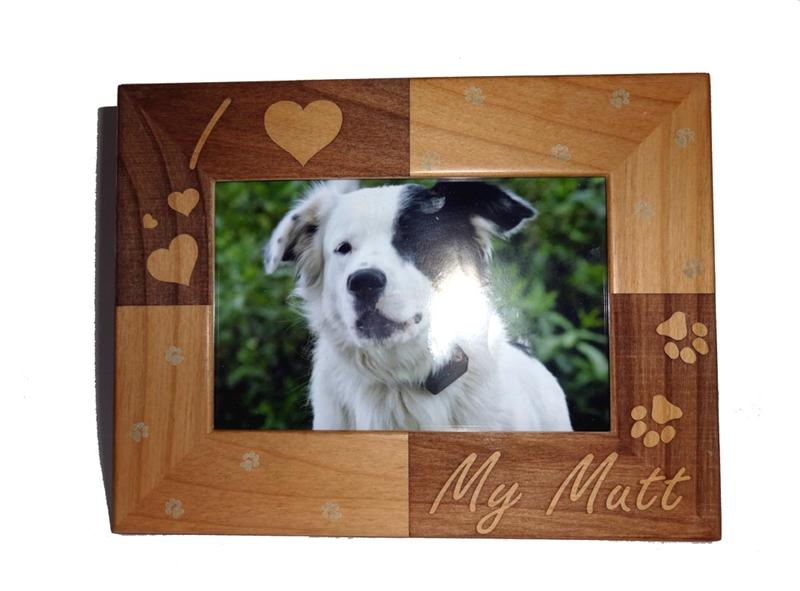 I Love My Mutt Photo Frame - A Pet's World