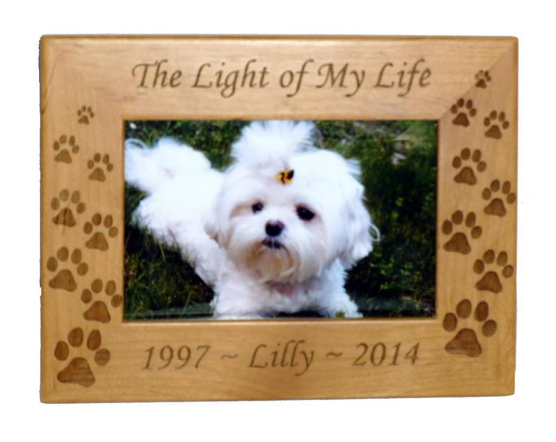 Light Of My Life Personalized Photo Frame 4X6 - A Pet's World
