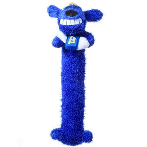 "Dog Toy-Loofa Hanukkah 12"" Blue Dog with Squeaker - A Pet's World"