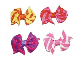 Dog Hair Bows-Pinwheels - A Pet's World