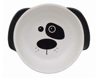 Adorable Doggy Face Dog Bowl - A Pet's World