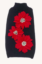 Load image into Gallery viewer, Dog Sweaters-Poinsettia Flowers - A Pet's World