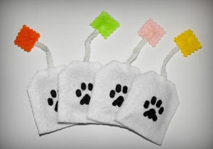 Cat Toys- 4 Tea Bags with Natural Catnip -USA Made - A Pet's World