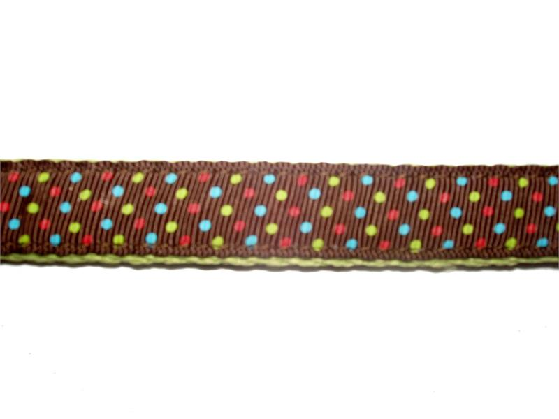 Ribbon One Piece Step-In Harness-Triple Dots - A Pet's World