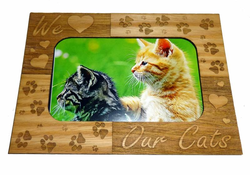 Magnetic 3 X 5 Photo Mattes for Cats and Dogs - A Pet's World