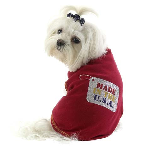 Dog T-Shirt- MADE IN THE USA! - A Pet's World