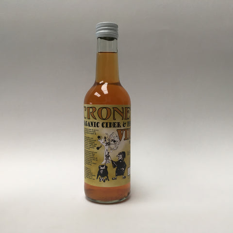 Crone's Organic Cider and Perry Vinegar 330ml
