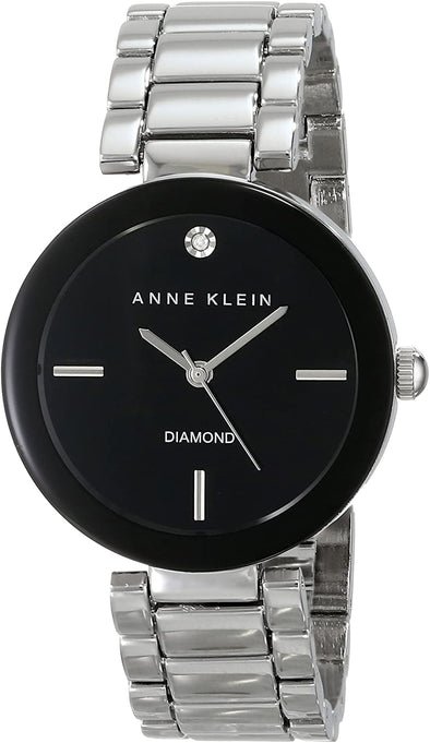 Anne Klein Watch Women's Genuine Diamond Dial Bracelet Watch