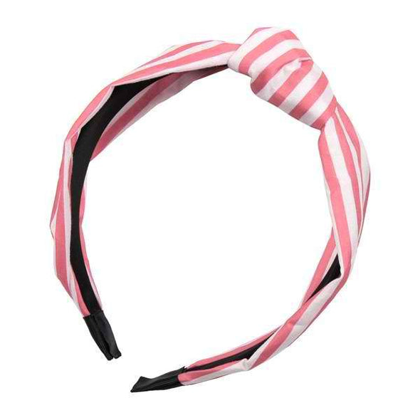 Striped Clothed Hair Band - Sixbows.com