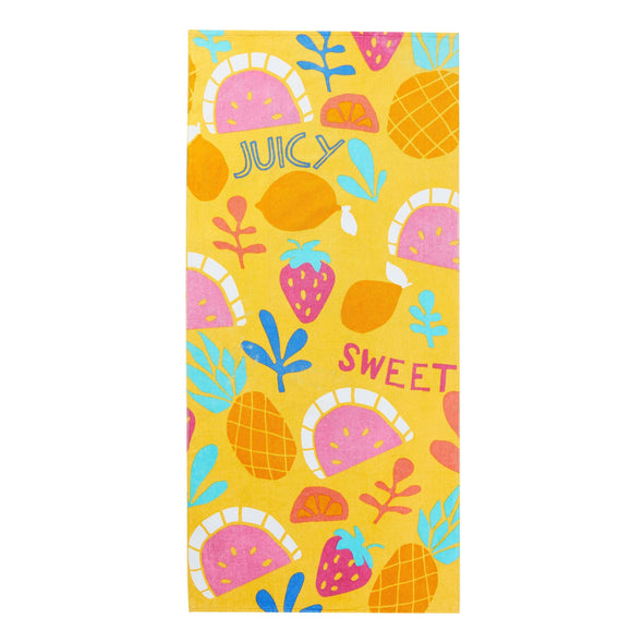 Multi-Color Beach Towel - Sixbows.com