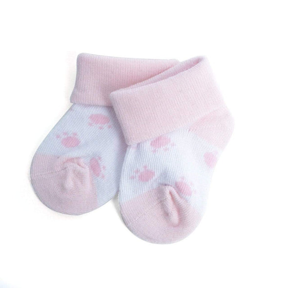 Fancy Babies  Socks with Paw Print Pattern - Sixbows.com