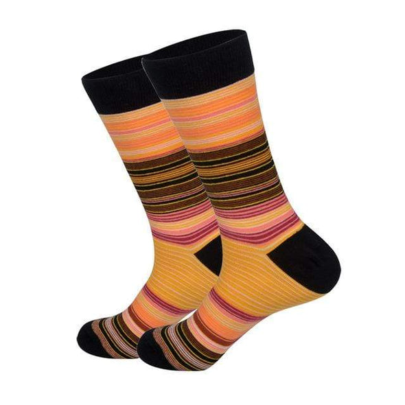 Peach Dress Socks - Sixbows.com