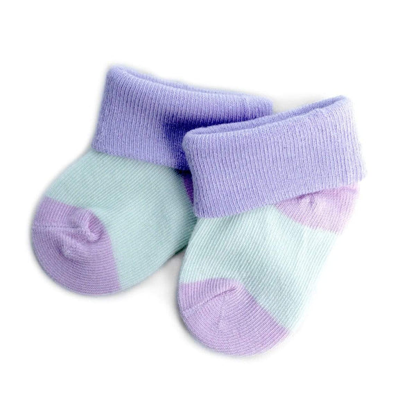 Solid Color Babies' Socks - Sixbows.com