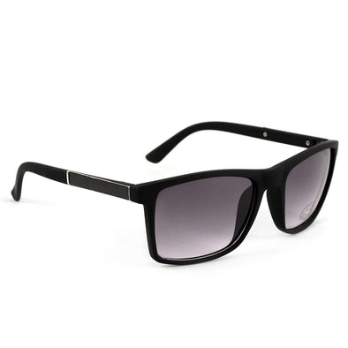 Black Matte Rectangle Sunglasses - Sixbows.com