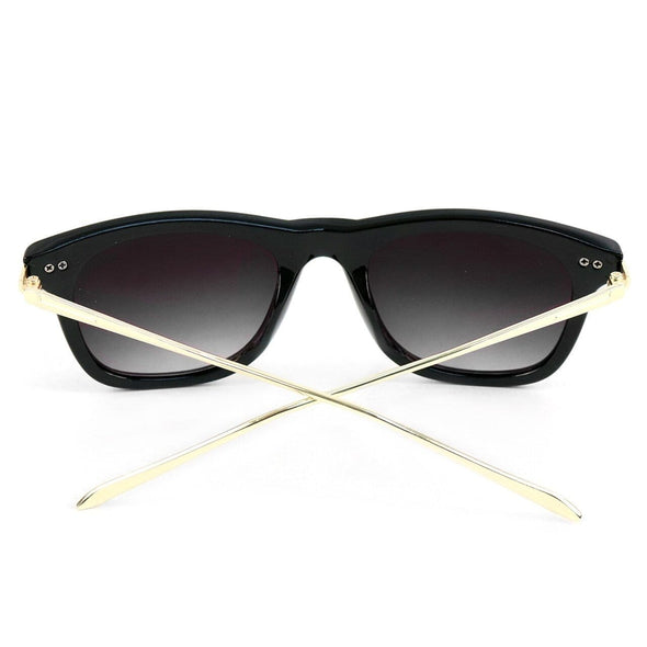Black Rectangle Sunglasses - Sixbows.com