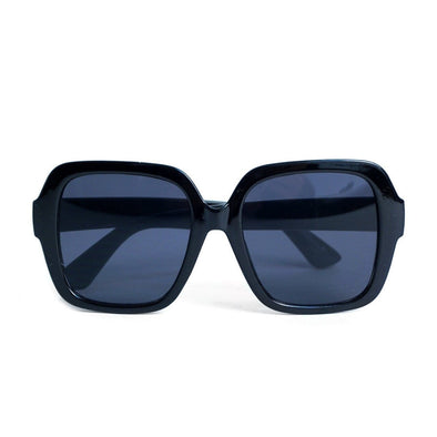 Ladie's Square Oversized Sunglasses - Sixbows.com