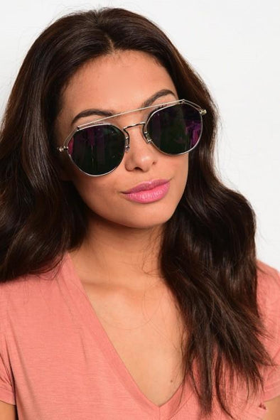 Ladies Double Bridge Sunglasses - Sixbows.com