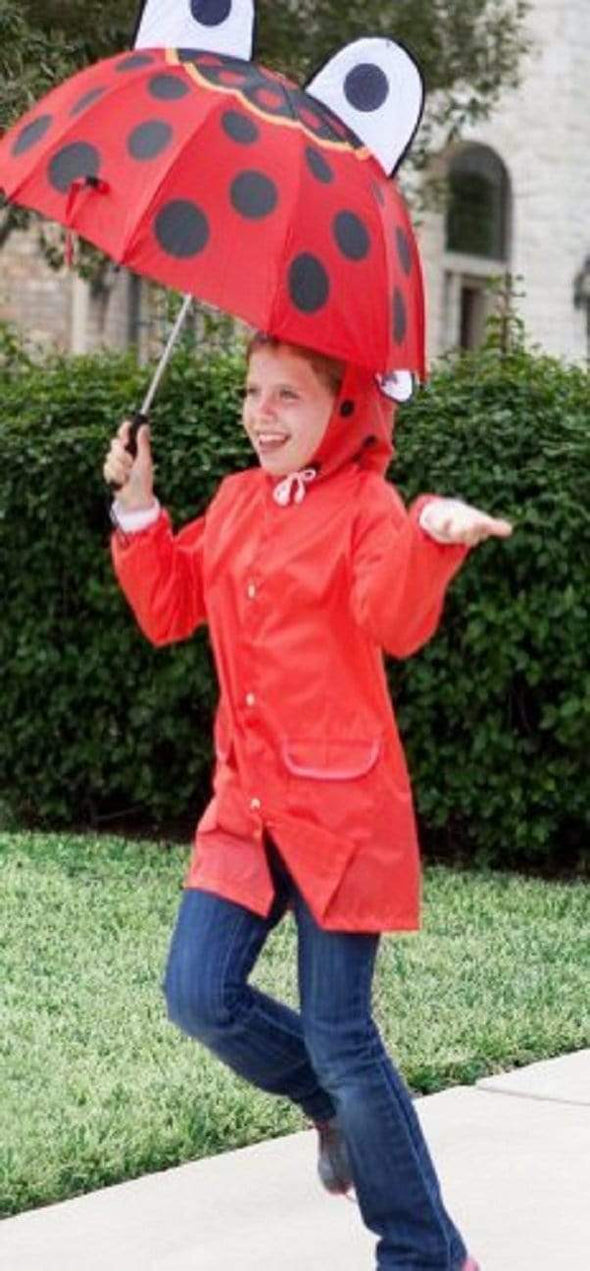 Children Ladybug Raincoat - Sixbows.com