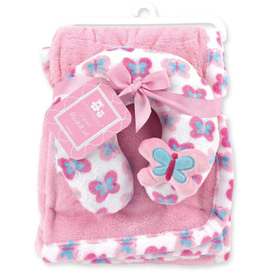 2-PIECE BUTTERFLY BLANKET SET - Sixbows.com