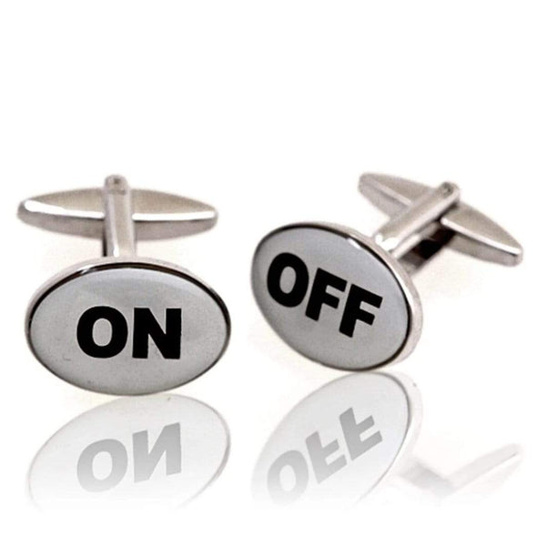 On/off Cufflinks - Sixbows.com