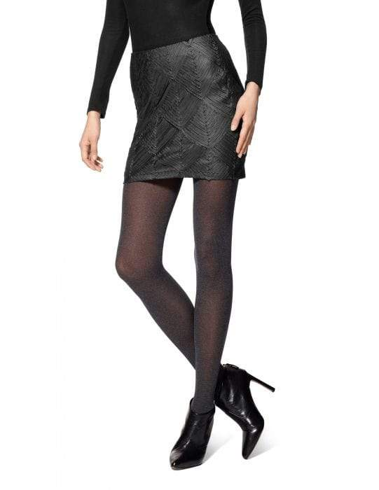 HUE SUPER OPAQUE TIGHTS WITH CONTROL TOP - Sixbows.com