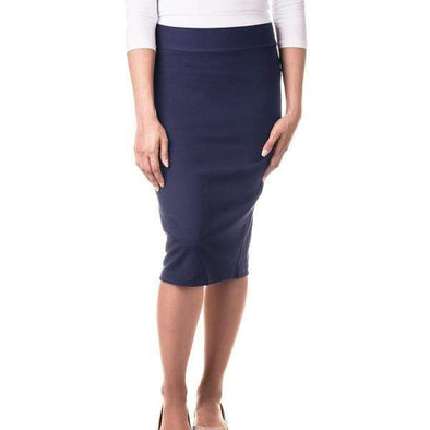 WOMEN'S VISCOSE PENCIL SKIRT - Sixbows.com