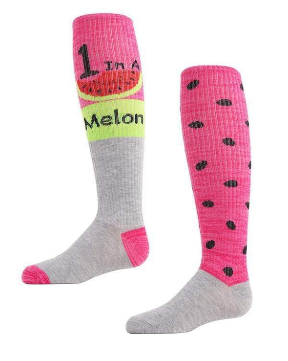 ONE IN A MELON KNEE HIGH SOCKS 2 Pk - Sixbows.com