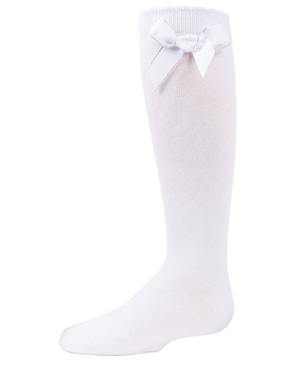 SWEET BOW KNEE HIGH SOCKS - Sixbows.com