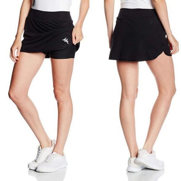 WORKOUT PLEATED SHAPER SKORTS - Sixbows.com
