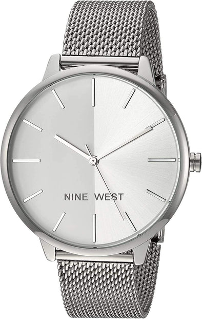 NINE WEST Watch Women's NW/1981 Sunray Dial Mesh Bracelet Watch