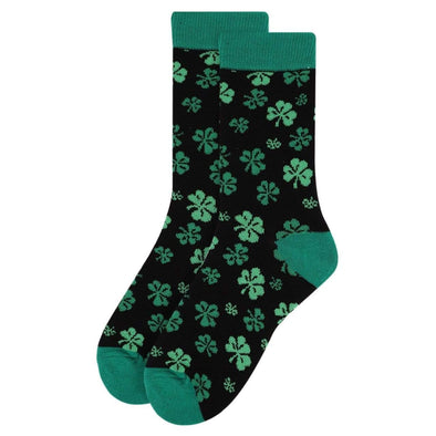 Clover Pattern Socks - Sixbows.com