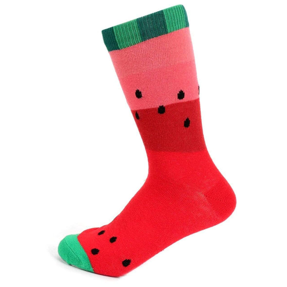 Juicy Watermelon Novelty Socks - Sixbows.com