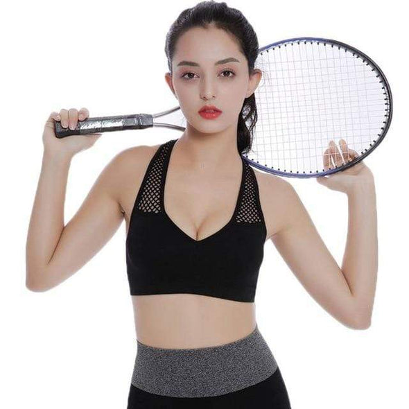 Two Pc  Breathable quick-drying Sports Bra - Sixbows.com