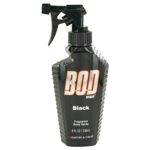 Bod Man Black 8 OZ Body Spray - Sixbows.com