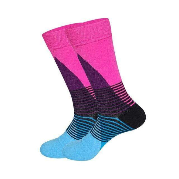 Men's Two Tone Dress Socks - Sixbows.com