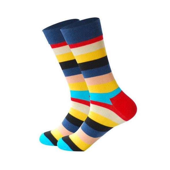 Striped Dress Socks - Sixbows.com