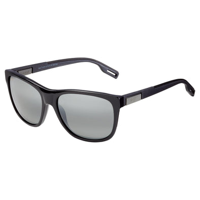 Maui Jim Howzit Gloss Black Polarized Sunglasses - Sixbows.com